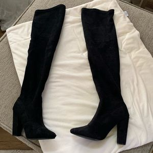 Steve Madden over the knee heel boots